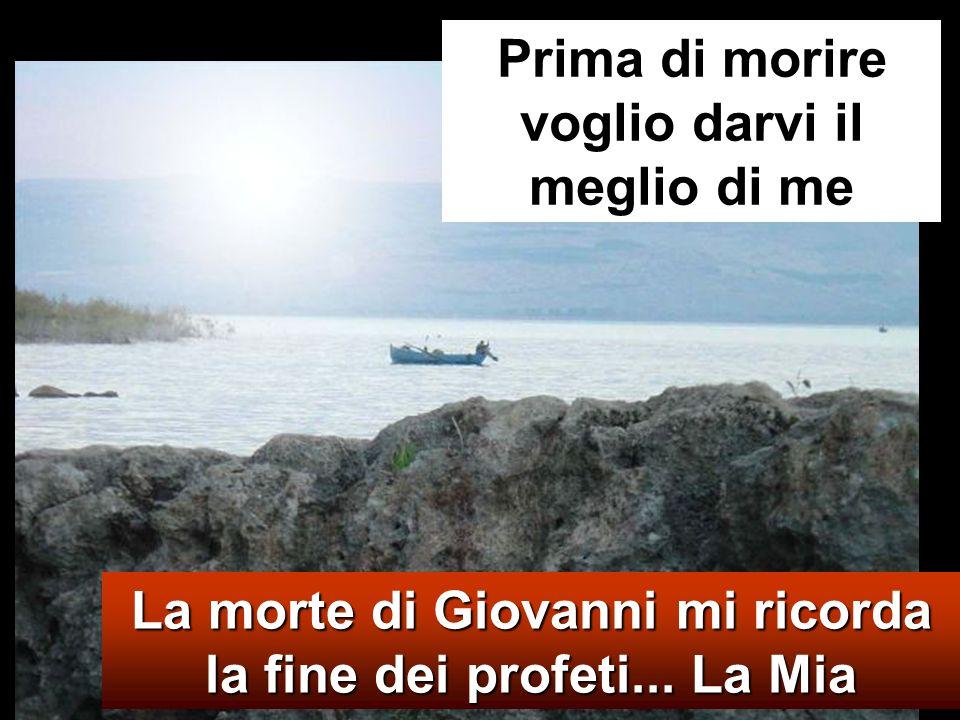 Mt 14,13-21 In quel tempo, avendo udito della morte di Giovanni Battista, Ges ù part ì di l à su una barca e si ritirò in un luogo deserto, in disparte.