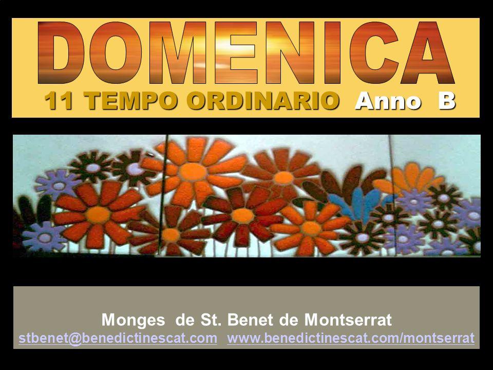 11 TEMPO ORDINARIO Anno B Monges de St.