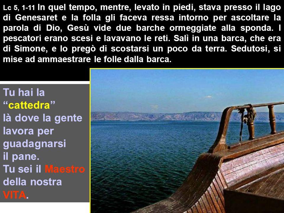 Tutte le fotografie sono del Lago di Genesaret PAROLA Il lago è il nuovo Tempio dove Gesù incontra gli umili che accolgono la PAROLA del Vangelo