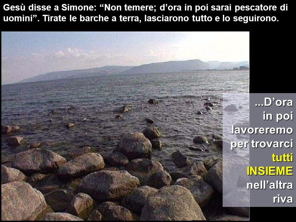 Al veder questo, Simon Pietro si gettò alle ginocchia di Gesù, dicendo: Signore, allontanati da me che sono un peccatore.