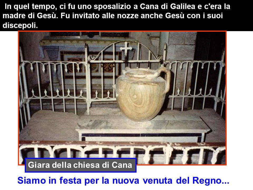 Tra il primo e lultimo miracolo, nella Cena, ogni domenica dellanno BEVIAMO il Vino Nuovo di Gesù Cana di Galilea