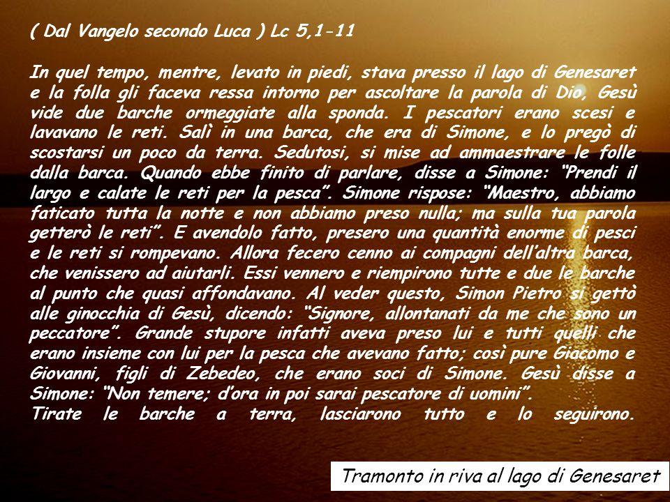 ALLELUIA (Gv 15,16) Io vi ho scelti di mezzo al mondo, dice il Signore, perché andiate e portiate frutto, e il vostro frutto sia duraturo.