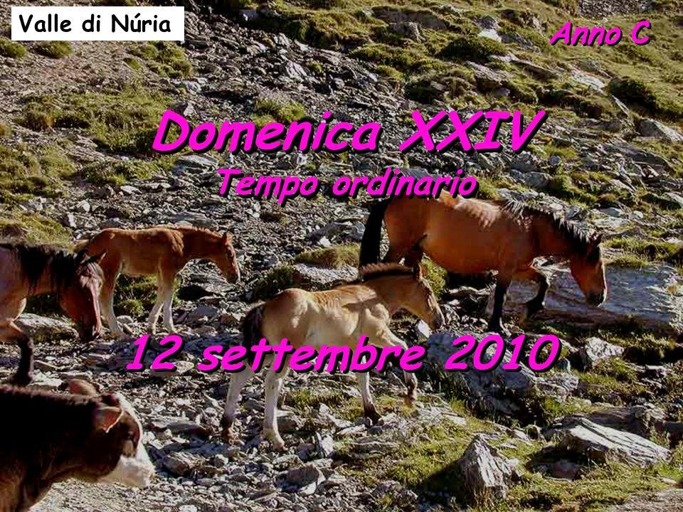 Anno C Domenica XXIV Tempo ordinario Domenica XXIV Tempo ordinario 12 settembre 2010 Valle di Núria