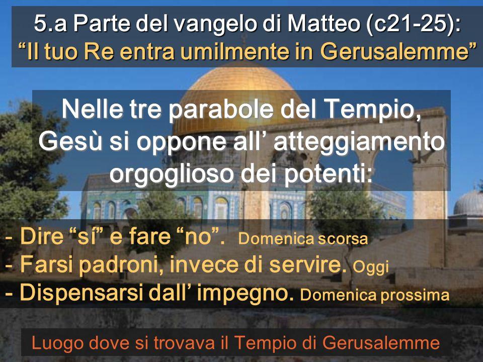 Con la preghiera Veni Domine, noli tardare chiediamo a Gesù che visiti la sua Vigna Monges de Sant Benet de Montserrat 27 ANNO A