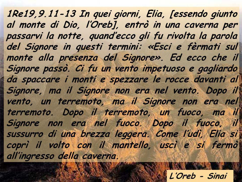 Anno A Domenica XIX tempo ordinario Domenica XIX tempo ordinario 7 agosto 2011 San Pietro-Vaticano Vespro a Montserrat
