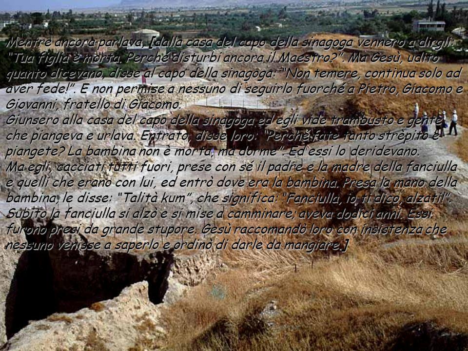 Dal vangelo secondo Marco Mc 5,21-43 In quel tempo, essendo passato di nuovo Gesù allaltra riva, gli si radunò attorno molta folla, ed egli stava lung
