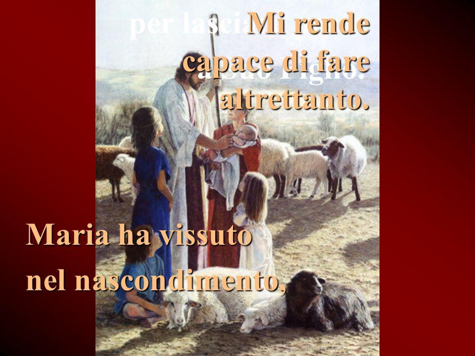 Ha detto: Eccomi al Padre. Mi aiuta a vivere nella Volontà di Dio.