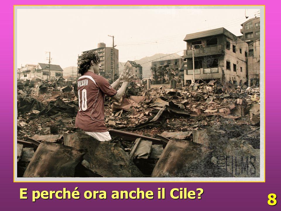 8 E perché ora anche il Cile?