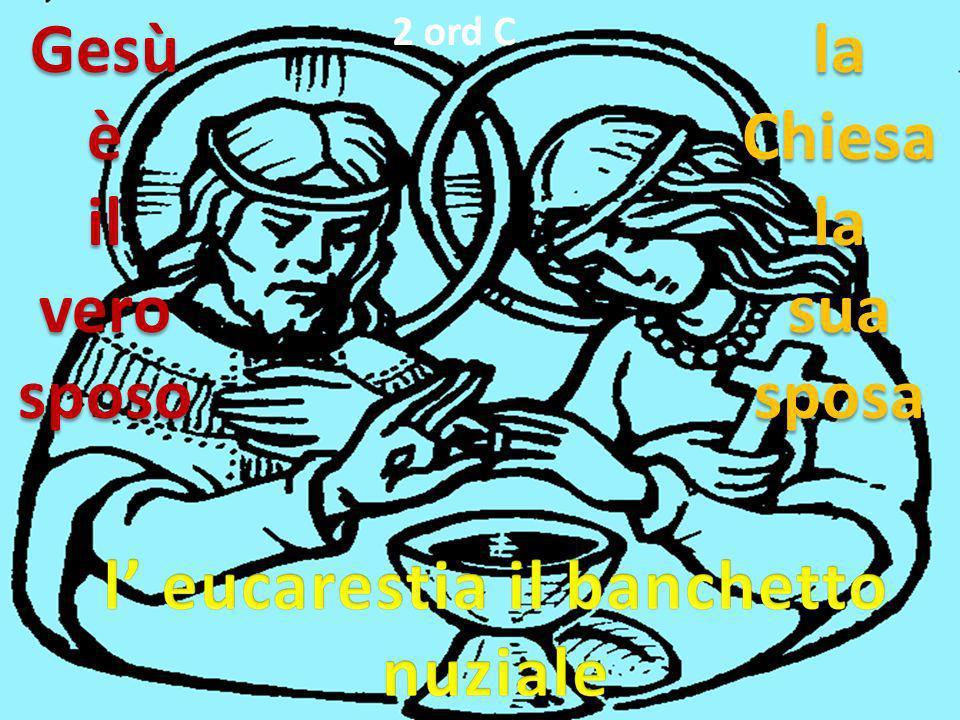 GesùèilverosposolaChiesalasuasposa 2 ord C
