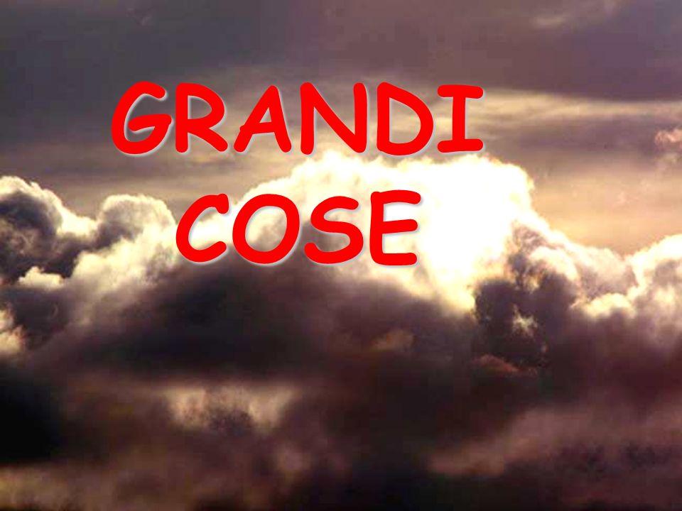 GRANDI COSE