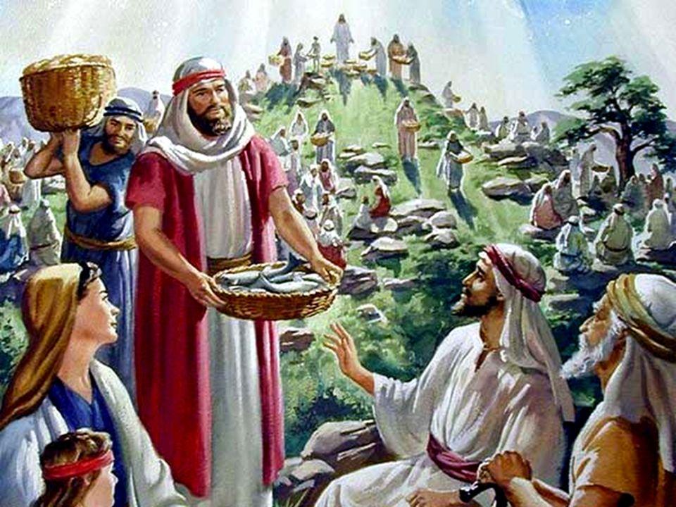 1In quel tempo, quando la folla vide che Gesù non era più là e nemmeno i suoi discepoli, 2salì sulle barche e si diresse alla volta di Cafàrnao alla ricerca di Gesù.