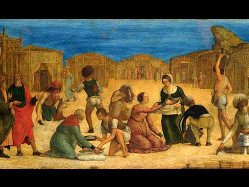 1In quei giorni, nel deserto tutta la comunit à degli Israeliti 2mormorò contro Mos è e contro Aronne.