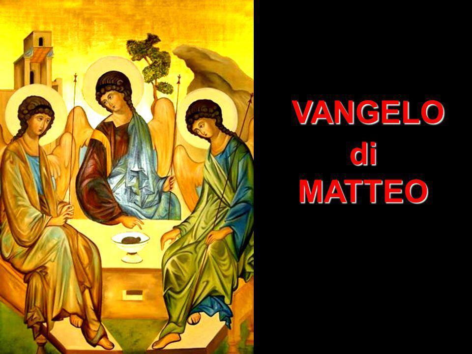 VANGELO VANGELOdiMATTEO