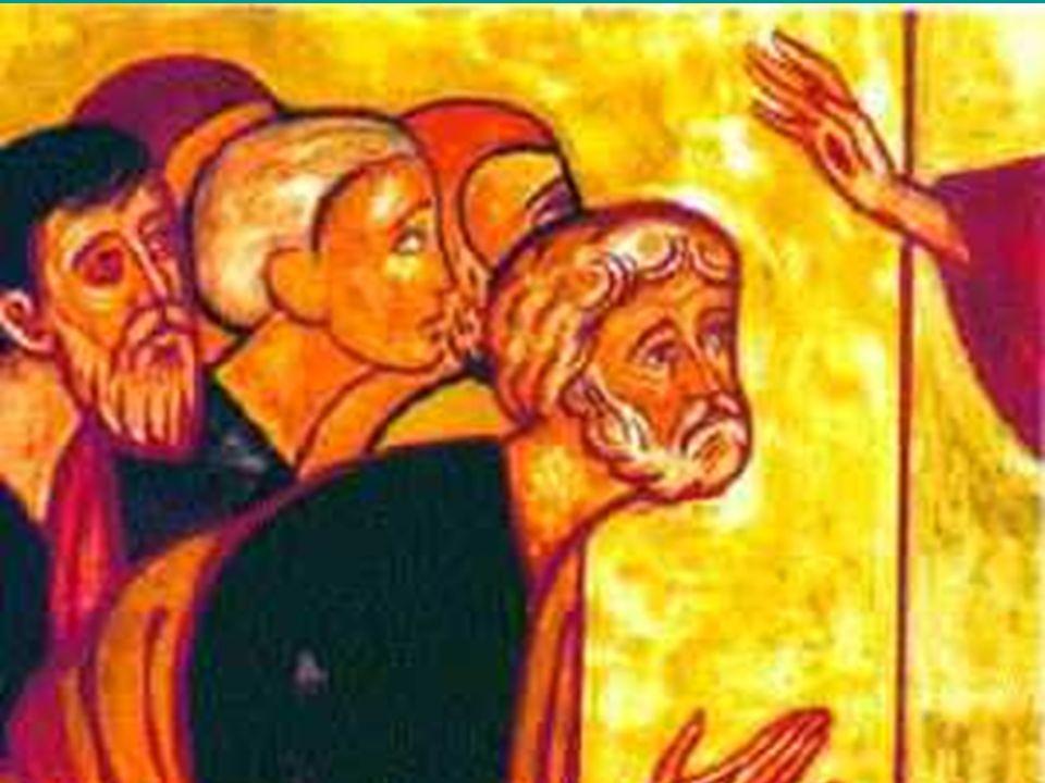 1 In quel tempo, [i due discepoli che erano ritornati da Èmmaus] narravano [agli Undici e a quelli che erano con loro] ciò che era accaduto lungo la via 2 e come avevano riconosciuto [Gesù] nello spezzare il pane.