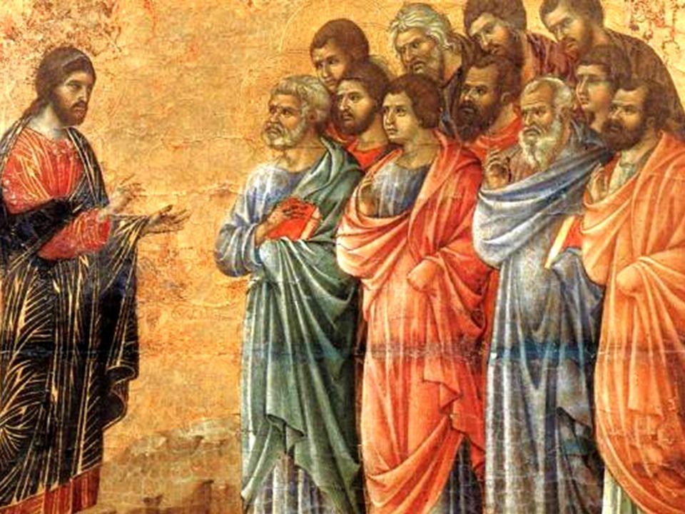 Detto questo, mostrò loro le mani e il costato. E i discepoli gioirono al vedere il Signore.