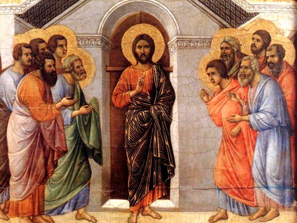 venne Gesù, si fermò in mezzo a loro e disse: Pace a voi!.