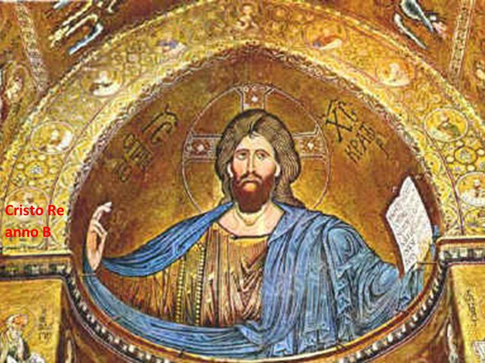 Fare clic per modificare lo stile del sottotitolo dello schema 23/11/12 Cristo Re anno B
