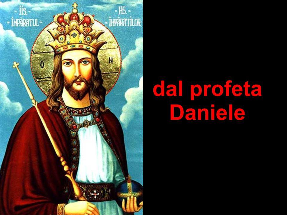 dal profeta Daniele