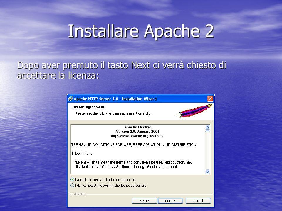 Linstallazione termina quando si presenta la seguente schermata: Installare MySQL Administrator