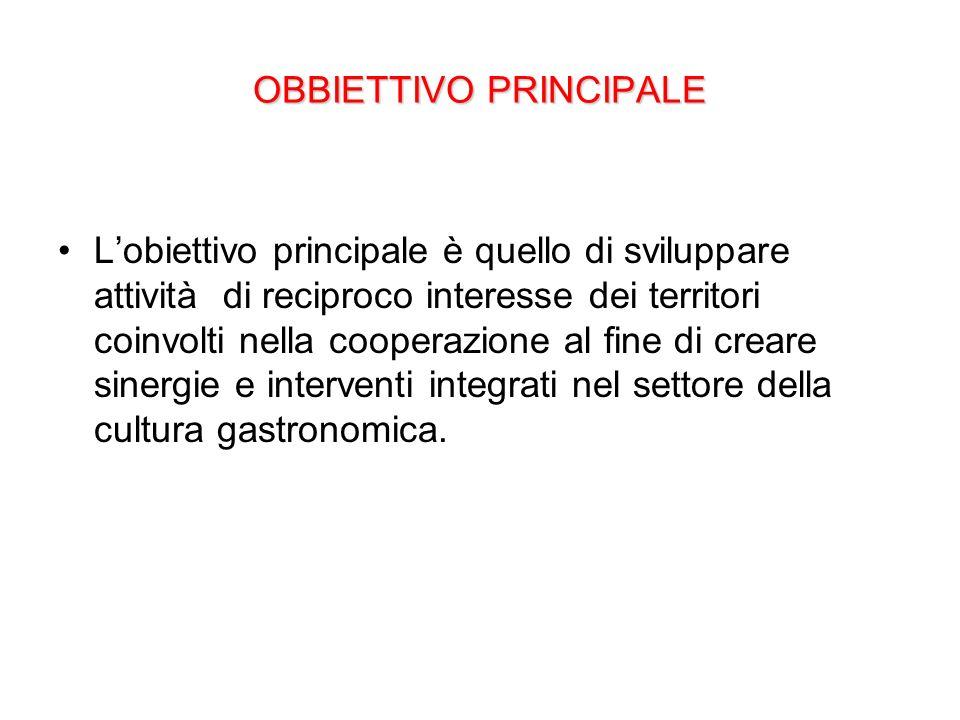 Obbiettivi operativi.
