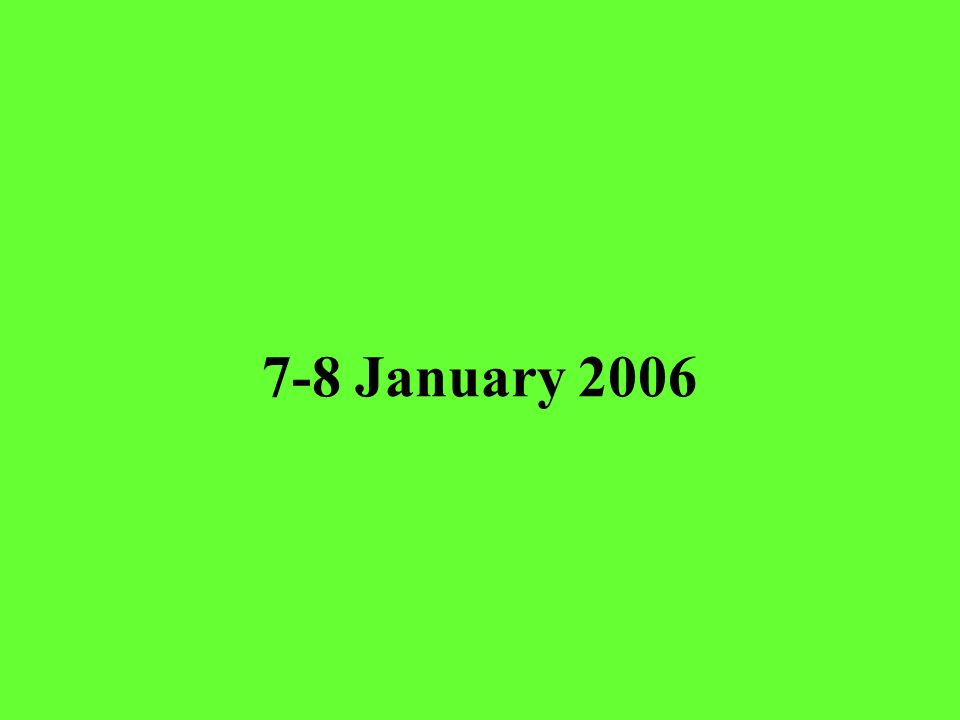 7-8 January 2006