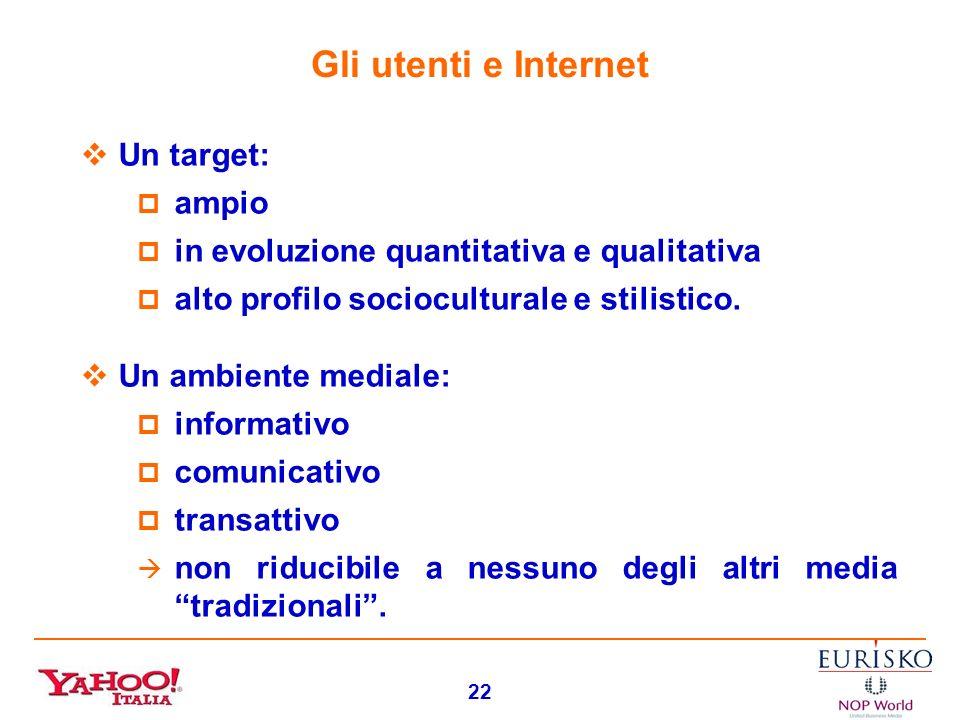21 LA COMUNICAZIONE PUBBLICITARIA SU INTERNET: GLI ORIENTAMENTI DEI NAVIGATORI (EURISKO - Edmondo Lucchi)