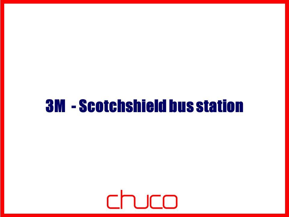 Scotchshield bus station Chi: 3M Dove: Vancouver Costo: 6000 dollari canadesi Per lanciare il nuovo prodotto di 3M Scotchshield (una pellicola che rende corazzata la superficie su cui viene applicata), lagenzia Rethink di Vancouver ha trasformato la pensilina di una fermata dell autobus in una cassaforte a cielo aperto.