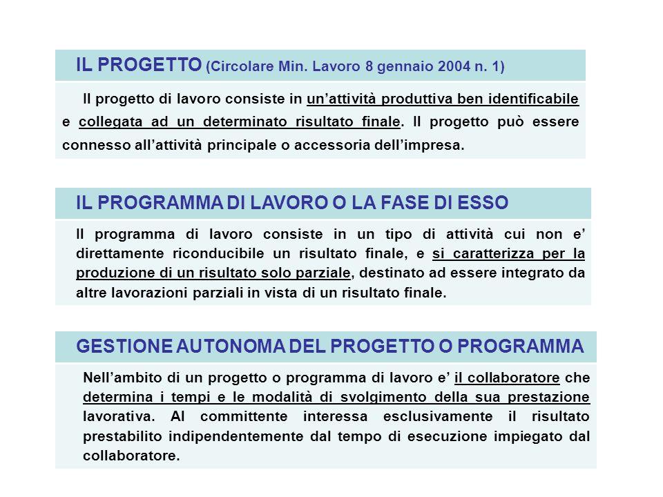 CONTRATTO DI INSERIMENTO Forma del contratto (art.