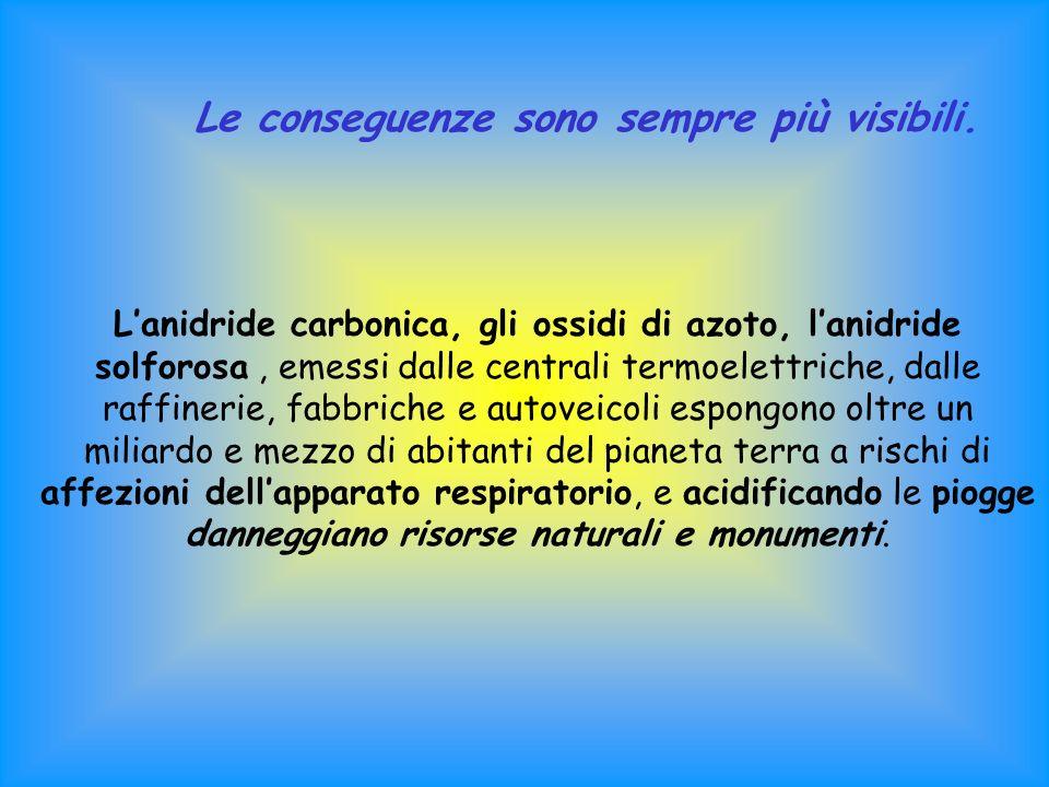Protezione dello strato di ozono atmosferico Accordo principale: convenzione di Vienna 1985 a cui lItalia ha subito aderito.