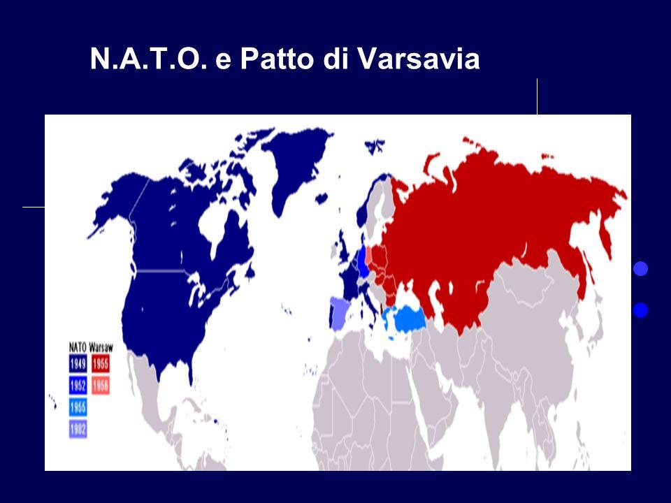 Prof. Bertolami Salvatore N.A.T.O. e Patto di Varsavia