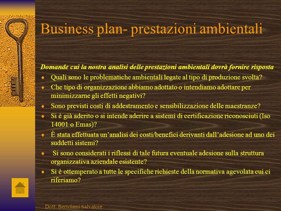 Business plan - fattori produttivi Domande cui la nostra analisi dei fattori produttivi dovrà fornire risposta È opportuna la realizzazione allinterno
