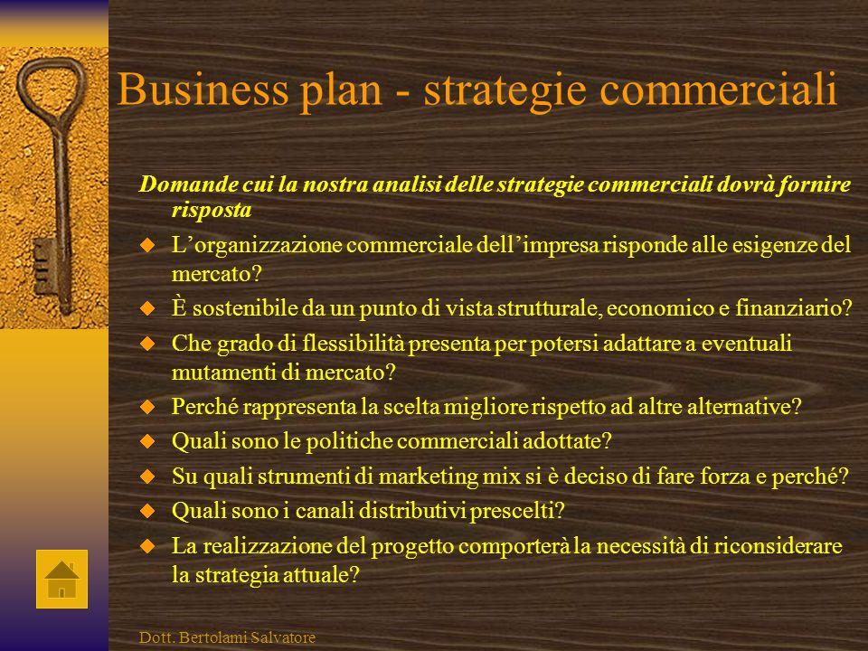 Business plan - risorse finanziarie Domande cui la nostra analisi delle risorse finanziarie dovrà fornire risposta È verificata una situazione di equi
