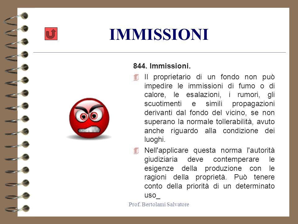 Prof.Bertolami Salvatore ATTI DI EMULAZIONE 833. Atti d emulazione.