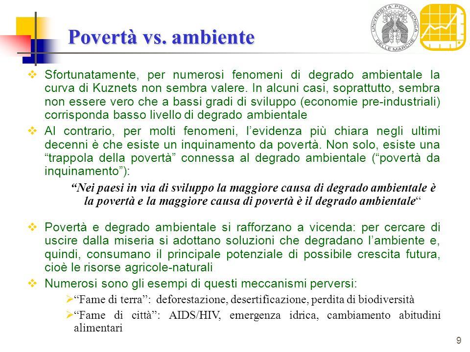 9 Povertà vs.