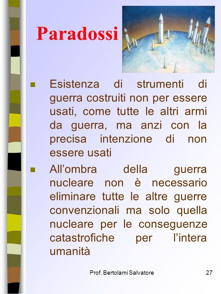 Prof. Bertolami Salvatore26