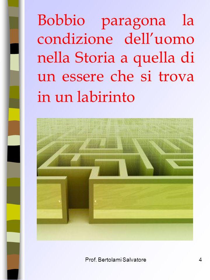 Prof. Bertolami Salvatore3 Per ragionare insieme su Guerra e Pace Riflessione sulla diade più attenzionata nella Storia dellUomo