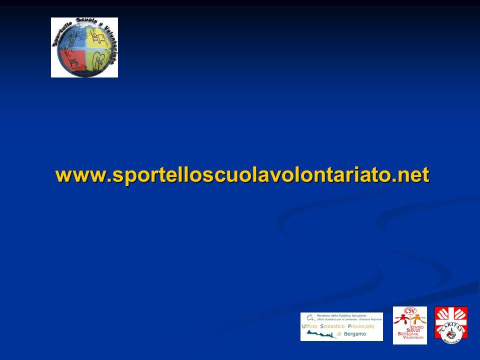 www.sportelloscuolavolontariato.net