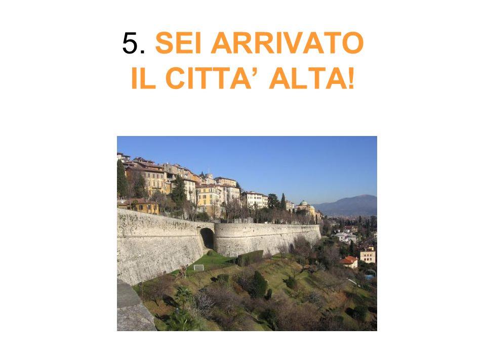 5. SEI ARRIVATO IL CITTA ALTA!