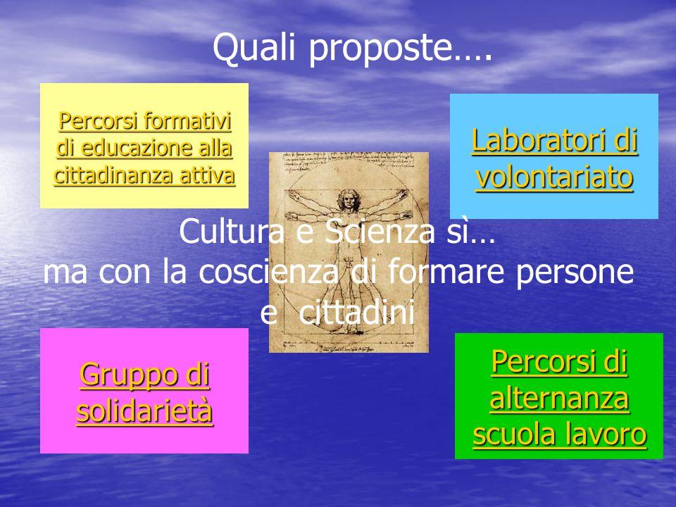 Percorsi formativi di educazione alla cittadinanza attiva Percorsi formativi di educazione alla cittadinanza attiva Gruppo di solidarietà Gruppo di so