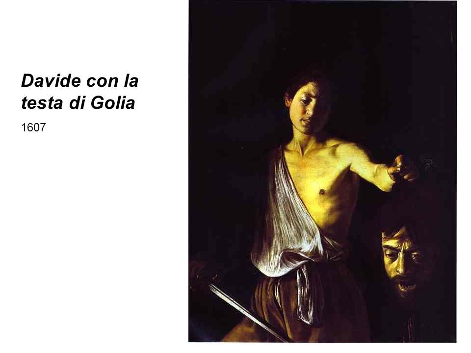 Davide con la testa di Golia 1607