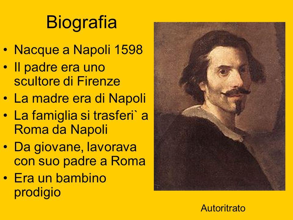 Biografia Nacque a Napoli 1598 Il padre era uno scultore di Firenze La madre era di Napoli La famiglia si trasferi` a Roma da Napoli Da giovane, lavor