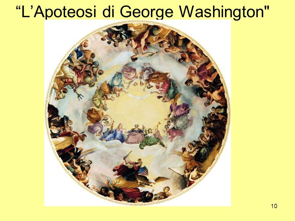 10 LApoteosi di George Washington