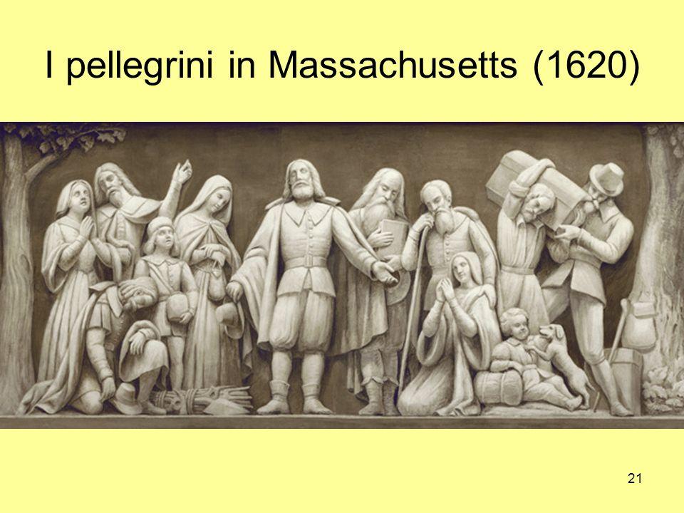 21 I pellegrini in Massachusetts (1620)