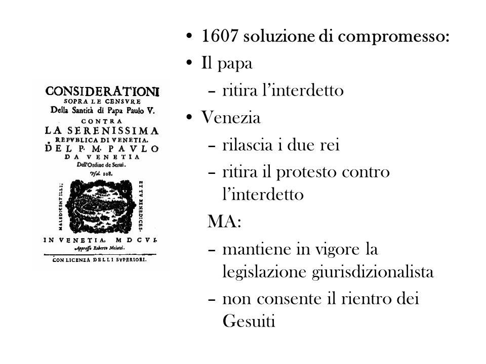 Un consulto di Sarpi Consulto 83, 13 novembre 1609 Sopra un conseglio delleccellentissimo Collegio de Giureconsulti di Padova a favore del conte Alberto Scoto tratto da: P AOLO S ARPI, Consulti, vol.