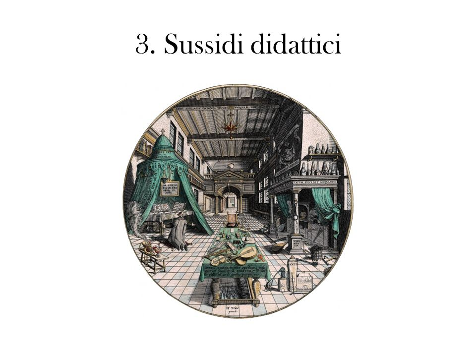 3. Sussidi didattici