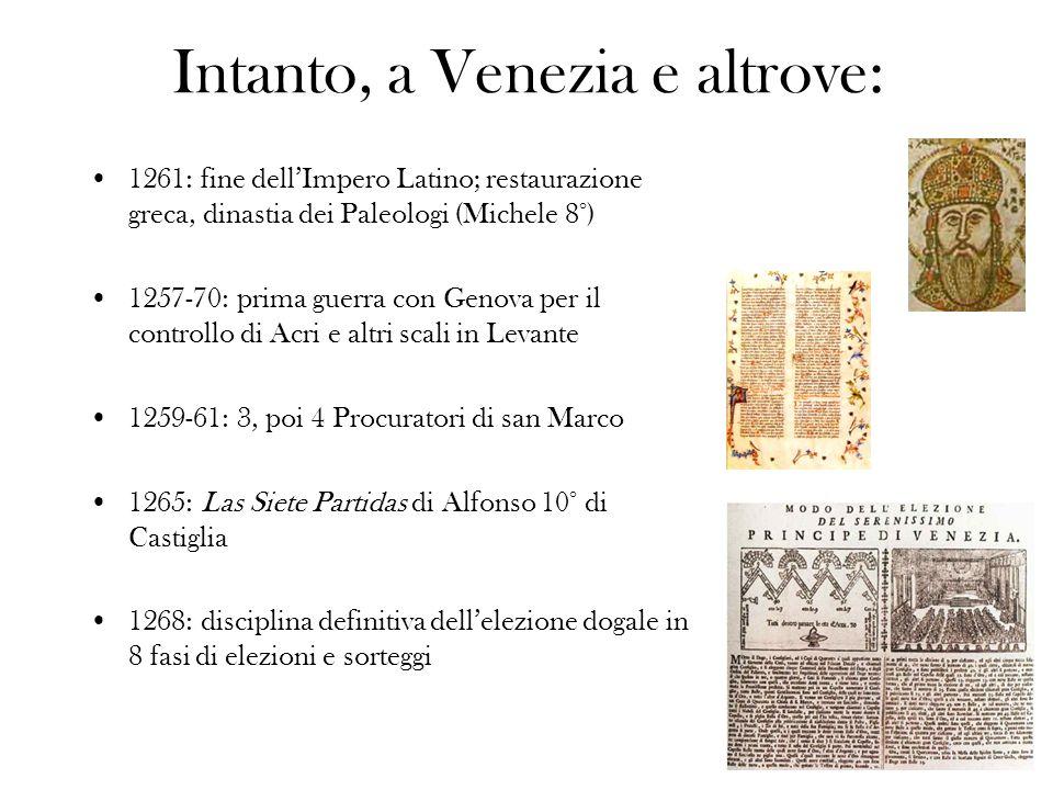 1284: inizia la coniazione di ducati doro veneziani con peso e titolo (gr.