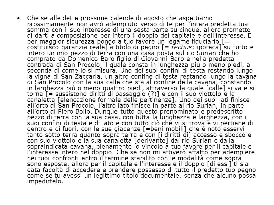 La c.d.Serrata dal MaggC fine XIII sec.