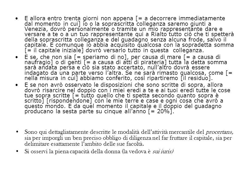 Un trattato commerciale con i Tartari Archivio di Stato di Venezia, Liber Albus, c.