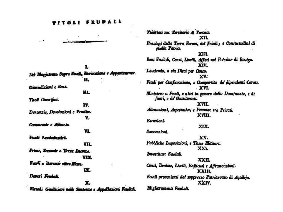 Venezia vicaria imperiale sulla T.F.