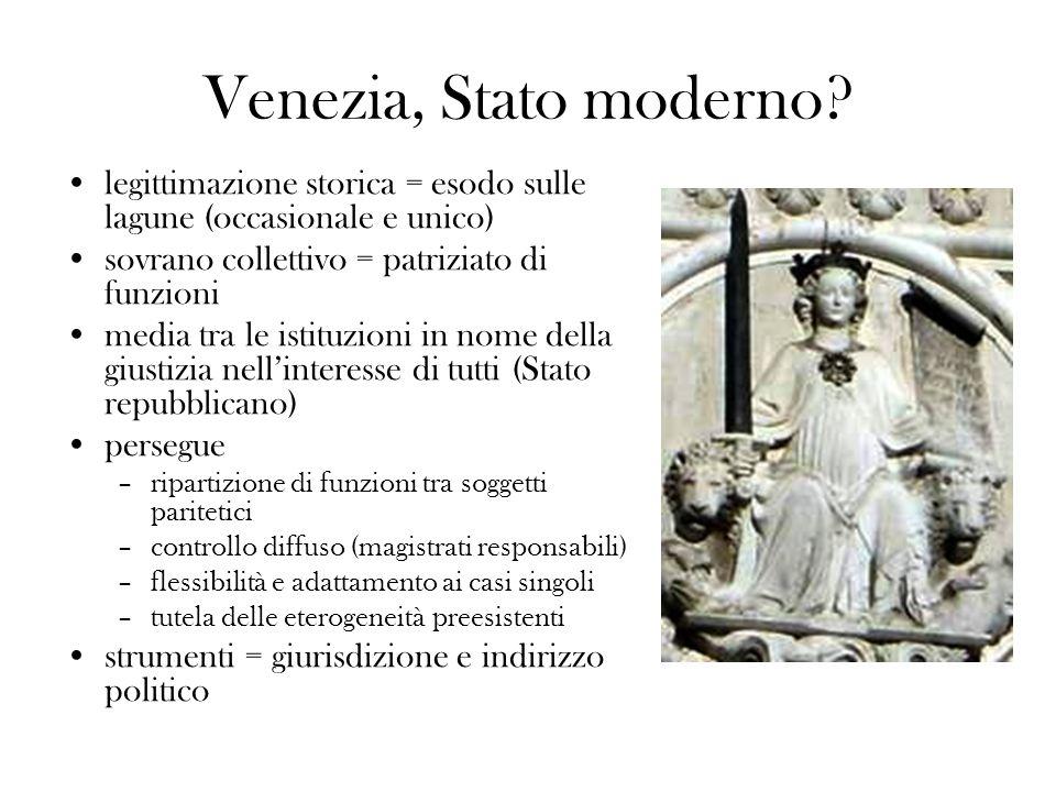 Venezia, Stato moderno.
